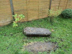 The stone in Jack's garden