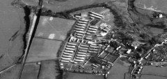 Fremington Camp in 1945. RAF/106G/LA/132 5066 14-FEB-45. English Heritage (RAF photography).