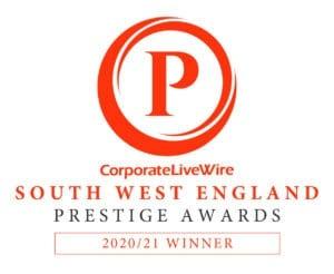South West England Prestage award logo