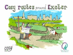 Poster for Cosy routes around Exeter