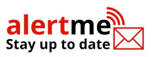 alert me - stay up to date - logo