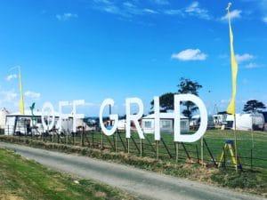Off Grid Festival Signage