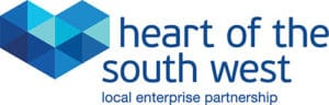 Heart of the South West Local Enterprise Partnership logo