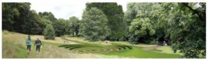 Artists impression of amphitheatre at the Knowle