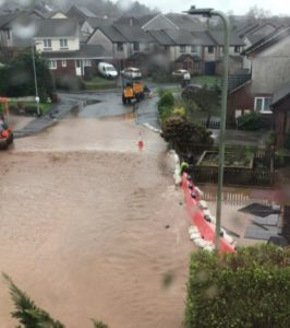 Flooding as a result of storms Brendan, Dennis and Jorge in January/February 2020