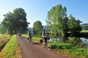 A scene from the La Velodysee trail