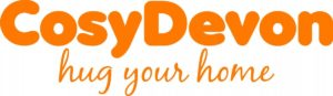 Logo or slogan for Cosy Devon 'hug your home'