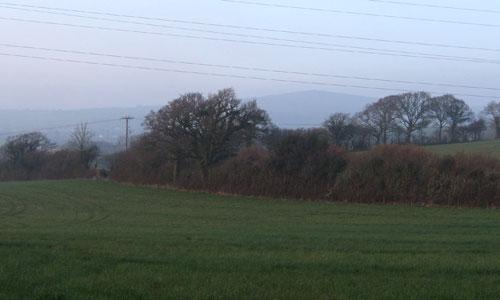 plymouth modbury landscape picture