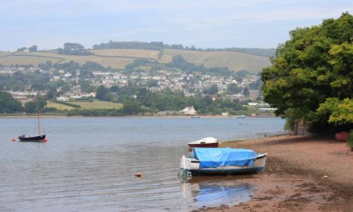teign estuary landscape picture