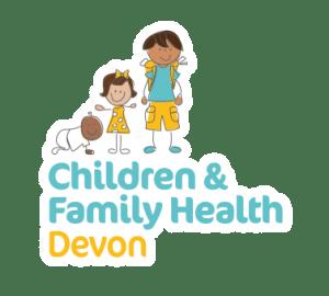 children and family health Devon logo
