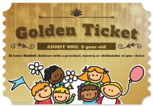 Golden ticket front cover