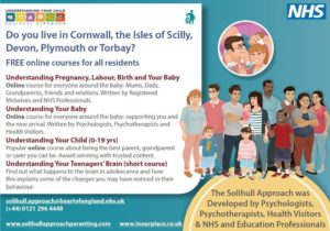 Solihull approach parenting courses graphic