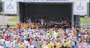 Devon schools Music Mix Event 2014 credit Tom Hurley, Devon Digital.