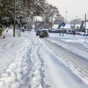 snow in small village Rob Jinman
